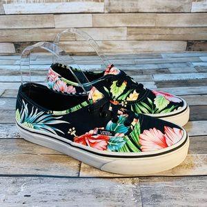 VANS    Tropical 🌴 Print 🌴 Sneakers